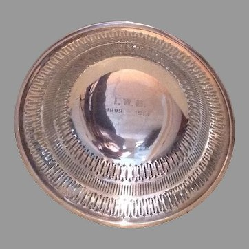 American c.1915 sterling  centerbowl by Gorham