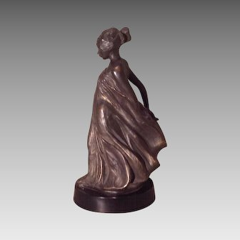 American Art Deco era figure of a lady