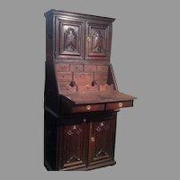 17th century Spanish or Portuguese desk/cupboard