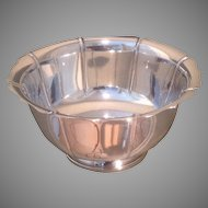 C. 1925 sterling bowl by M. Fred Hirsch Co.