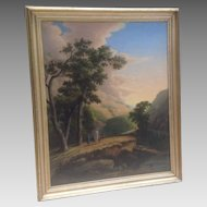 Large 19th cent. American painting