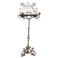 Gilted Continental music stand
