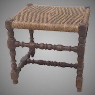 C. 1700 English stool