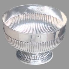 19th cent. British sterling bowl