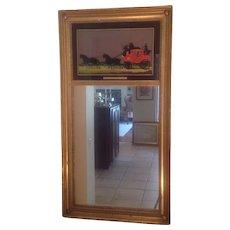 C. 1900 English gilted mirror