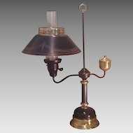 C. 1935 French tole lamp