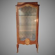 Late 19th c. French vitrine