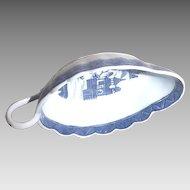 19th c. Chinese export gravy dish