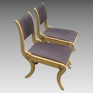 Pr. of Early 19th c. Amer.  Chairs