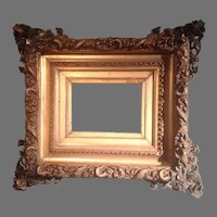 19th c. American Gilted frame