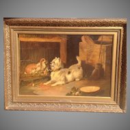 19th cent. British oil painting