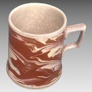 19th c. English Mocha Mug