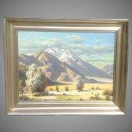 PAUL GRIMM western oil painting