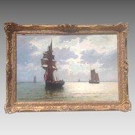 Alfred de Breanski, JR oil painting
