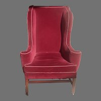 18th c. English Wing Chair
