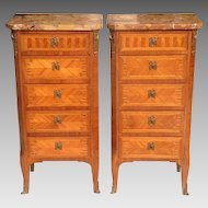 Pair of Early 20th c. French Cabinets