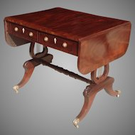 Regency period British Sofa table