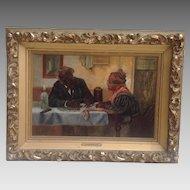 C. 1900 American Genre Painting