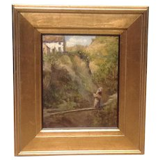 19thC.Oil by John Dawson Watson