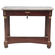 19th c. French Pier Table
