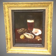 19th c. American Still Life Painting