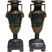 19th c. French Vases