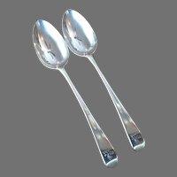 18th c. Hester Bateman Sterling Spoons