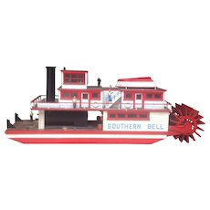 Mid-century American Southern Bell Workboat