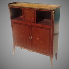 C. 1910 French Side Cabinet