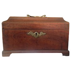 18th C. English Tea Caddy