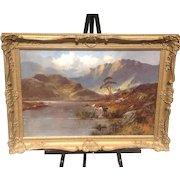 C. 1900 Alfred De Breanski, SR painting