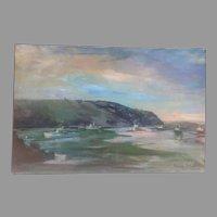 C. 1970 Theodore Tihansky painting