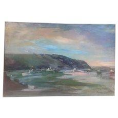 C. 1960 Theodore Tihansky painting