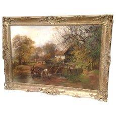 19th C. British Landscape Oil Painting