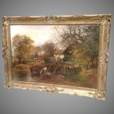 19th C. British Landscape Oil Painting