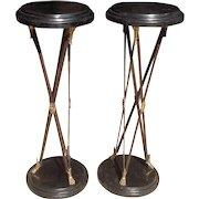 Pair of Mid Century Pedestals