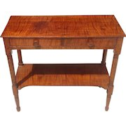 19th c. American painted Console