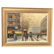 20th c. Willem Heytman Paris Painting