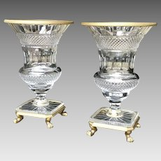 Pair of Mid 20th C. French Urns
