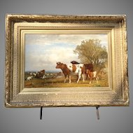 19th C. James McDougal Hart(American 1828-1901) painting