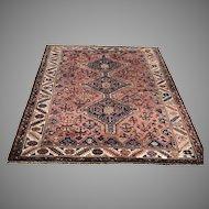 Mid 20th C. Persian Tribal Rug