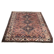 Mid 20th C. Persian Tribal Rug