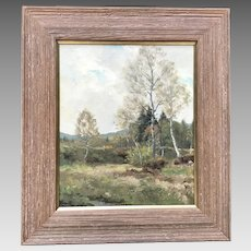 Early 20th C. German Landscape Painting
