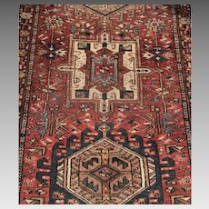Early 20 C. Persian Karajeh Rug