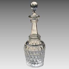 19th C. American Glass Decanter