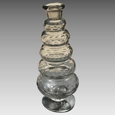 19th C. Small German Glass Decanter