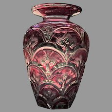 Early 20th C. American Glass Vase