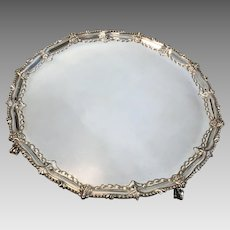 18th C. John Carter Sterling Salver