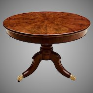 Early 19th C. British Center Table
