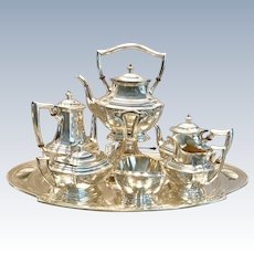 C. 1940 American Sterling Tea Service
